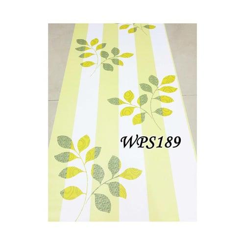 Wallpaper Sticker 45cmx5m WPS189 Green Line N Leaves