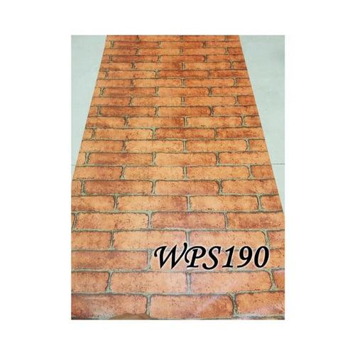 Wallpaper Sticker 45cmx5m WPS190 Orange Brick II