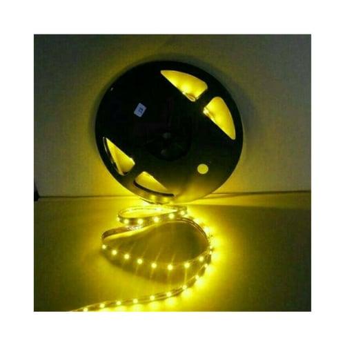 Lampu Led Strip 12V Smd 2835 / 2538 ( Mata Kecil ) LP65 Outdor Kuning