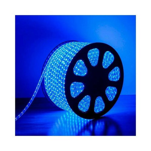 Lampu LED Strip Meteran SMD 5050 Rope Light Waterprof IP67 Selang Biru