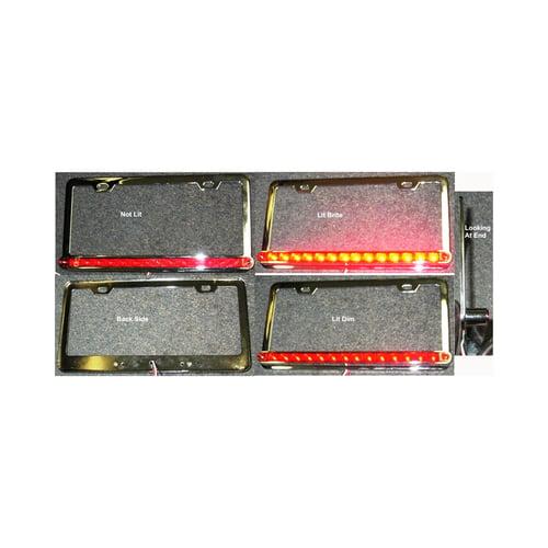 Led Licence Plate Light ( Steel Cover )