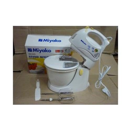 Miyako Stand Mixer Watt Rendah 190W 5 Speed + 1 Turbo SM 625