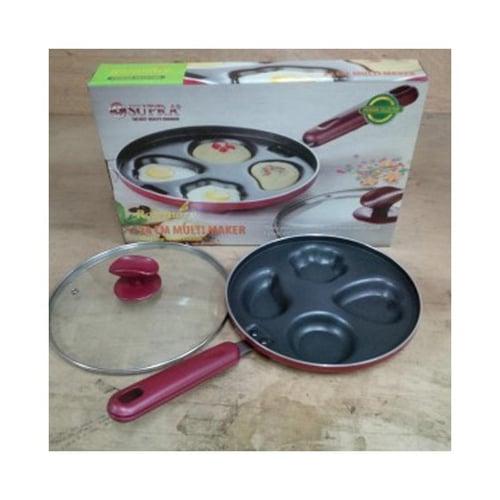 SUPRA Multimaker Cake Pan Teflon Snackmaker Cetakan Kue Lumpur / Kue Cubit