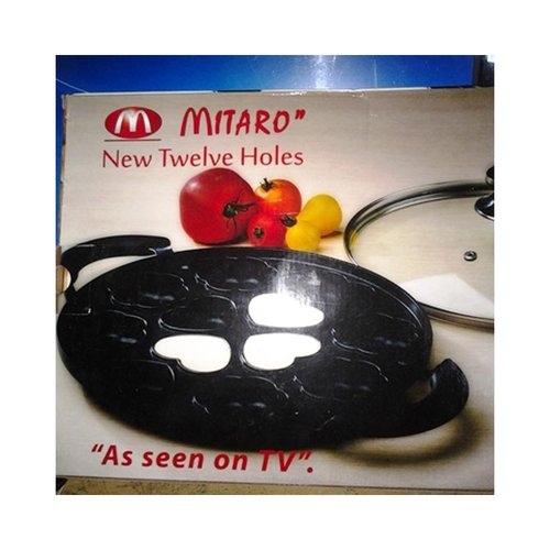MITARO Snack Maker Teflon 12 Motif Love Bunga Cetakan Kue Cubit