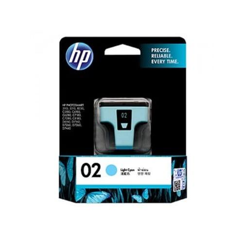 HP Tinta Ink Cartridge Light Original 02 C8774WA Cyan