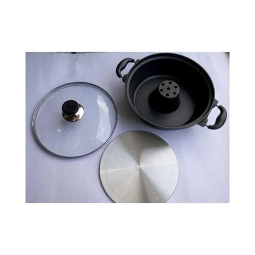 Baking Pan Teflon Anti Lengket Cetakan Bolu Bisa Panci Shabu
