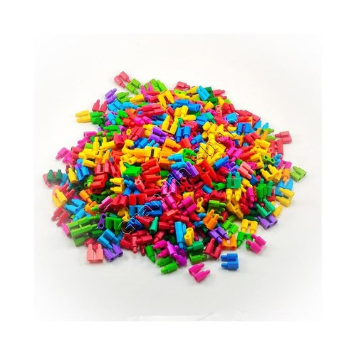 Lego  Paket 1000 Pcs Roket Mini Mainan Jadul 90an