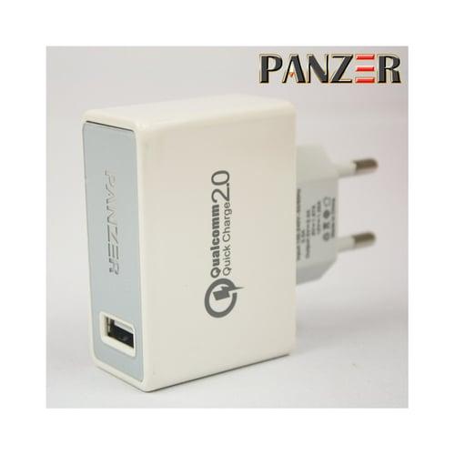 PANZER Travel Fast Charger Qualcomm 2.0 Putih