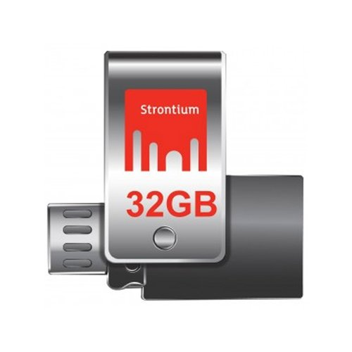 STRONTIUM Nitro OTG USB 3.0 with Micro USB Connector 32GB up to R130MB/s and W60MB/s