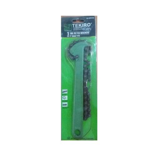 "Tekiro Kunci Rantai Oli (W-Okcn Oil Filter Wrench 9"" Chain Type)"