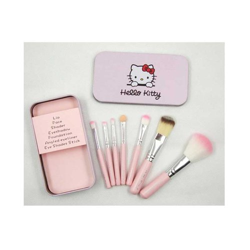 HELLO KITTY Brush Set Mini Makeup Set 7in1