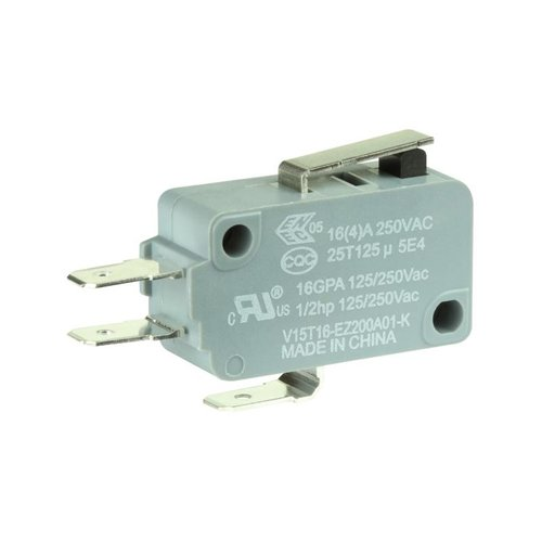 Honeywell V15 Series Miniature Basic Switch V15T16-EZ200A01-K