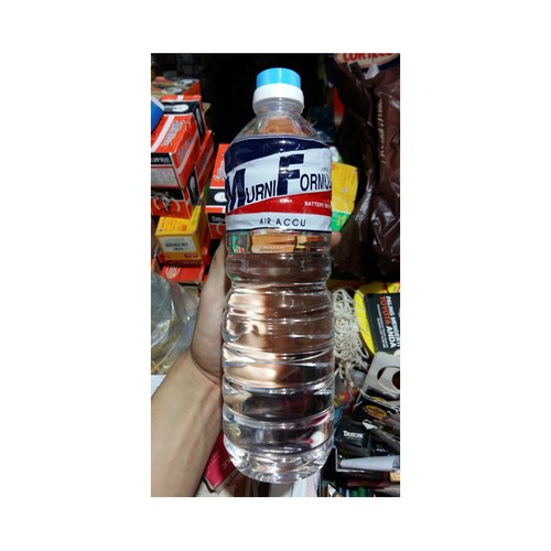 MURNI FORMULA Air Accu Battery Water 1 Liter Original