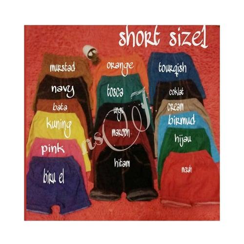 Short Jegging Anak Unisex / Jegging Anak Pendek / Size 1