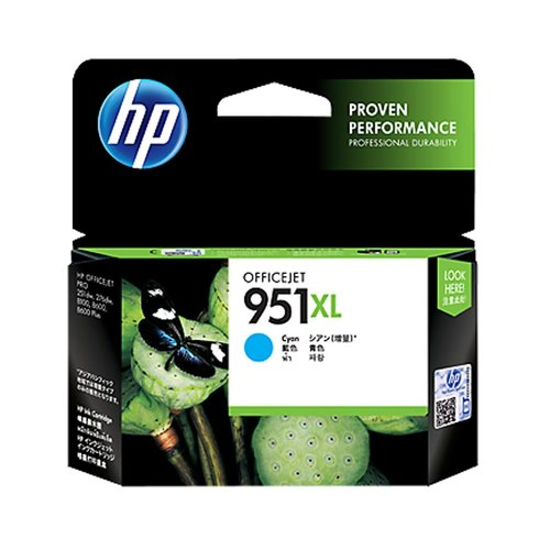 HP Officejet Ink Cartridge Cyan 951XL