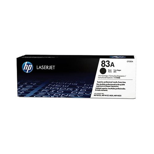 HP LaserJet 83A Black Toner Cartridge