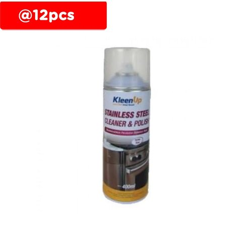 KLEEN UP Stainless Steel Cleaner and Polish-12pcs