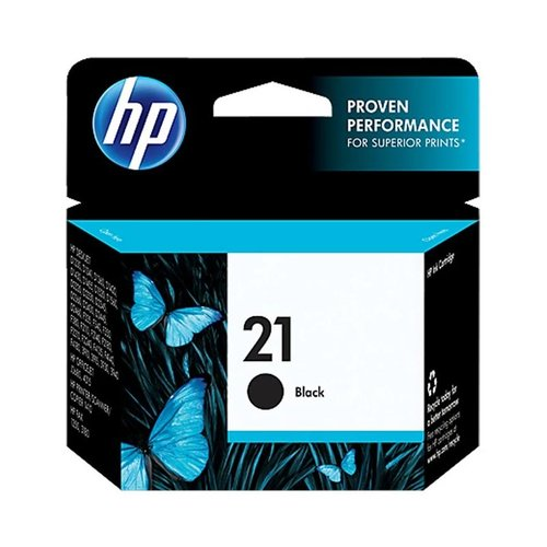 HP Inkjet Print Cartridge 21 Black