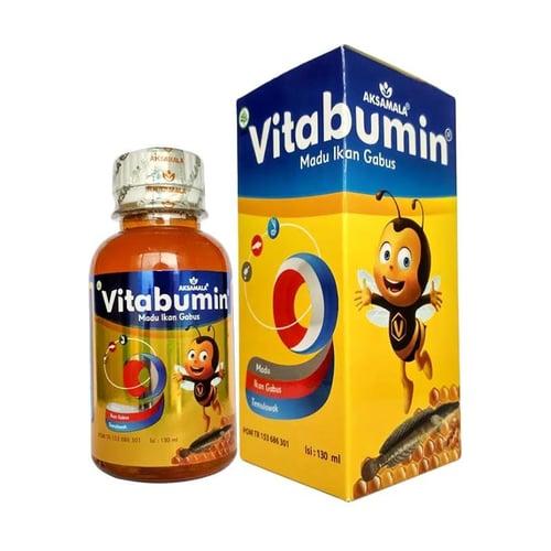 Vitabumin Original Madu Albumin Ikan Gabus 130ml