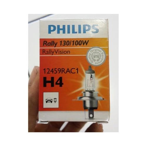 PHILIPS Bohlam Halogen Lampu Depan Mobil H4 12V 130-100W