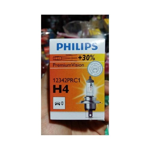 PHILIPS Bohlam Halogen Lampu Depan Headlights Mobil H4 P43T