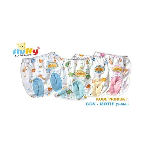 FLUFFY Celana Pendek Bayi Pop Ukuran S M L