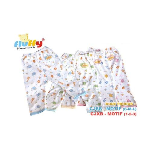 FLUFFY Celana Panjang Bayi Ukuran S M L