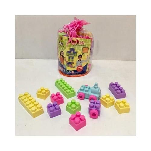 Mainan Edukasi Lego Blocks Bricks 75pcs