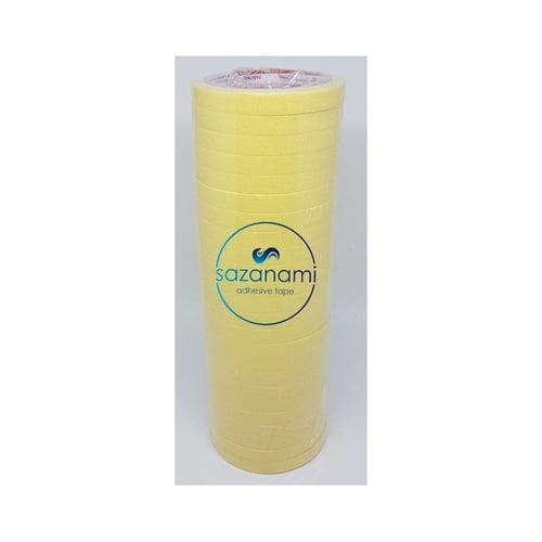 SAZANAMI Lakban Kertas Masking Tape Isolasi 1/2 Inch 12mm x 21m