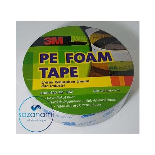 3M PE Foam Double Tape Busa Tape 24mm x 4M