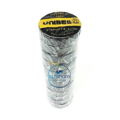 UNIBELL Isolasi Listrik Kabel Electrical Tape 18mm X 5 Yard