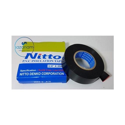 NITTO Lakban Listrik PVC 3/4 inch x 25m
