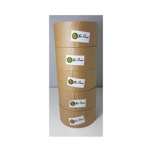 Tiger Lakban Air Gummed Paper Craft Tape Kraft 50mm 2 Inch x 100m