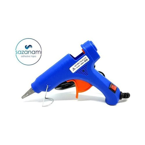 Alat Lem Tembak Glue Gun Lem Bakar Cair 20 Watt + Bonus Refill Lem 20cm