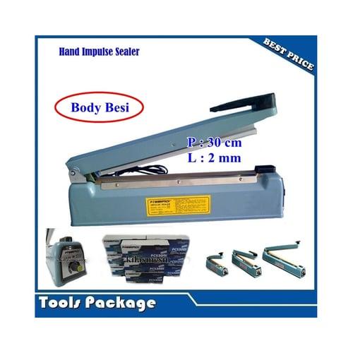 Hand Sealer Body Besi Press Perekat Plastik Powerpack 30cm
