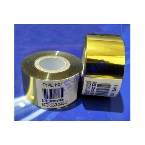 Ribbon Tape Gold Hot Stamping Foil Pita Tinta Mesin Coding