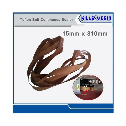 Teflon Belt Sparepart Mesin Sealer 15 x 810
