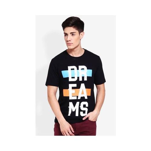 Carvil Tshirt Print Men Black-A4