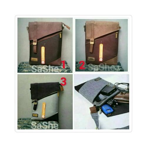 SaShe Store - BRILLANTE Braya Tas Selempang/Sling Pria untuk HP/Smarthphone