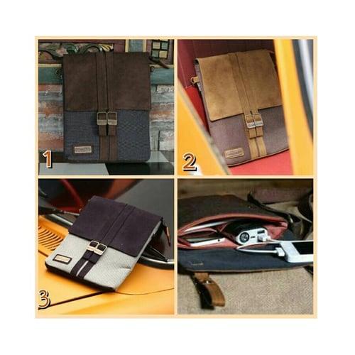 SaShe Store - Brillante Horizon Tas Selempang/Sling Bag Pria untuk HP/Smartphone