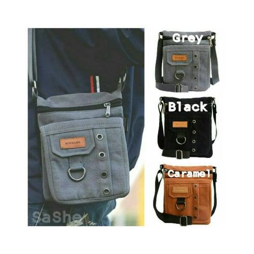 SaShe Store - Clovis Bag Hoozler Tas HP Pria Muat HP 7 Inch