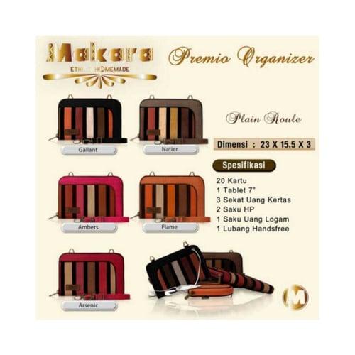 SaShe Store - MAKARA MPO Premio Organizer Roule Plain Tas/Dompet Selempang Wanita