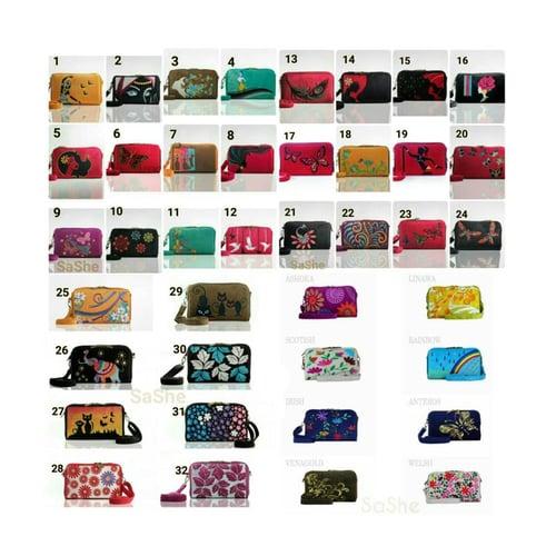 SaShe Store - Trojika HPO 8 Tas/Dompet Selempang Wanita Muat Tablet 8 Inch