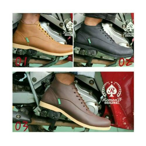 REMOND Sepatu Brodo Boot Semi Formal Original