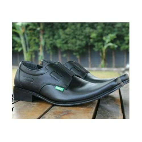 REMOND Sepatu Pantofel Lancip Original Kulit Asli