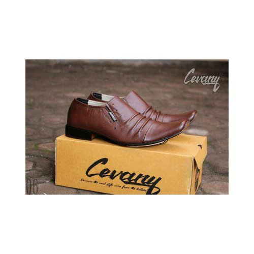 CEVANY Sepatu Kulit Original