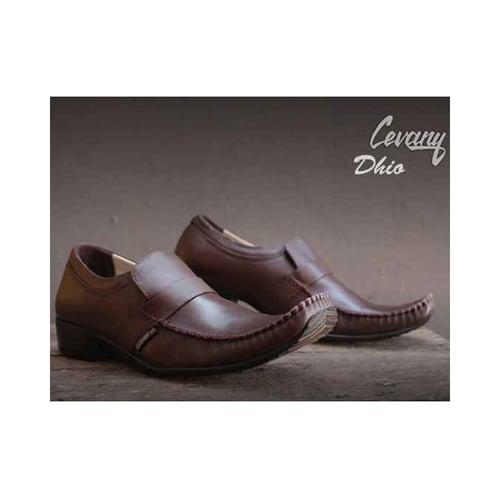 CEVANY Sepatu Kulit Original Pria Dhio