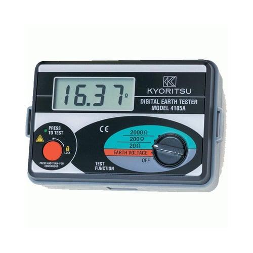 Kyoritsu Digital Earth Tester 4105A