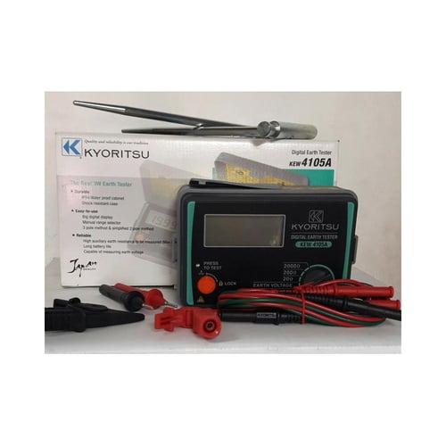 Kyoritsu Digital Earth Tester KEW-4105A