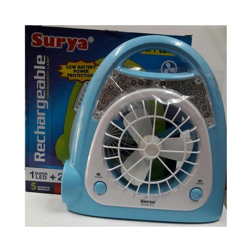 SURYA Lampu Emergency LED + Kipas SFT L-2410